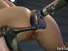vag pummel  finished dildo..