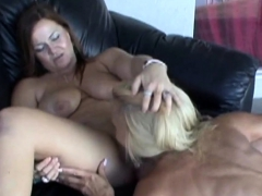 Milf's Tongued Each Other Out