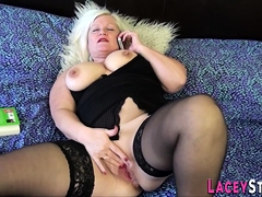 All girl Orgy With Granny